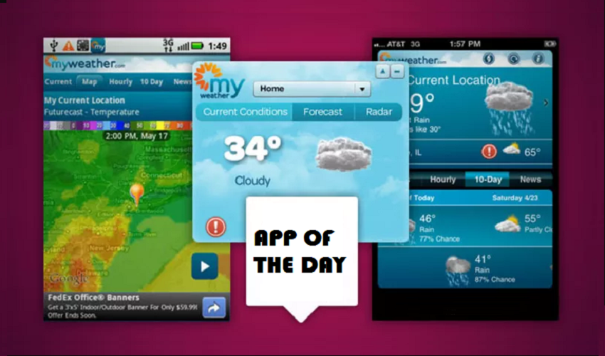Cool Weather Apps for Frequent Travellers